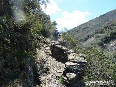 Pico Rocigalgo - Cascada del Chorro [Parque Nacional de Cabañeros] senderismo comunidad de madrid
